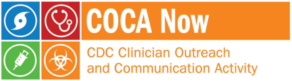 CDC Clinician Outreach and Communication Activity
