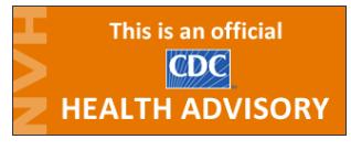 HAN Health Advisory logo